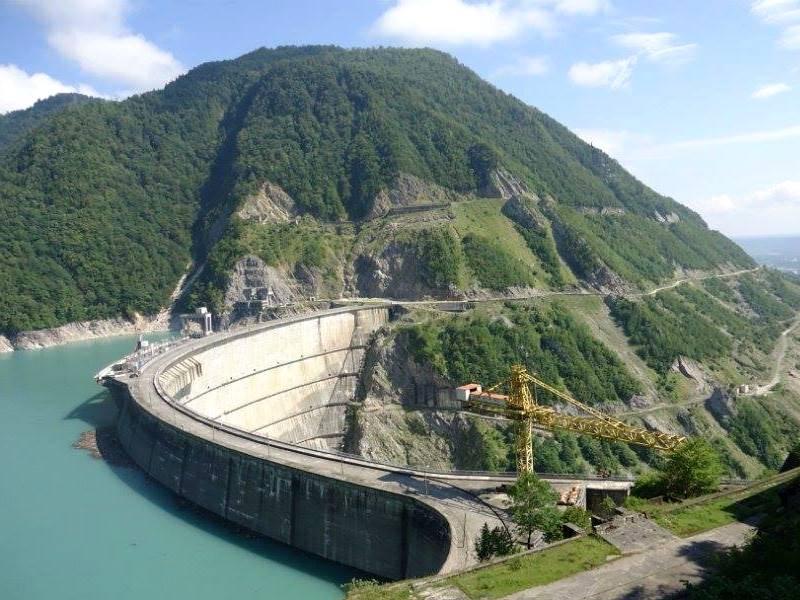 На территории Грузии состоялось открытие одного из крупнейших энергообъектов за последнее пятидесятилетие - «Шуахеви ГЭС».